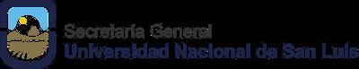 Logo Institucional Secretaría General UNSL